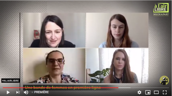 «À l'air libre»: femmes en première ligne, Etats-Unis et religions