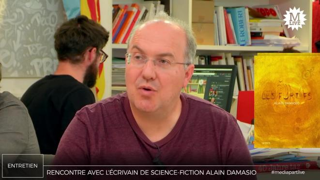 Alain Damasio: «La science-fiction se doit de proposer des alternatives»