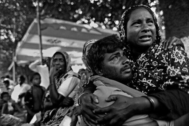 Au Bangladesh, victimes de l'industrie textile