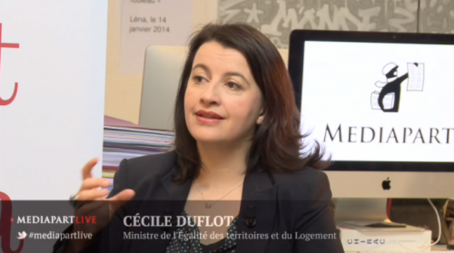 «En direct de Mediapart» : Cécile Duflot face à la rédaction