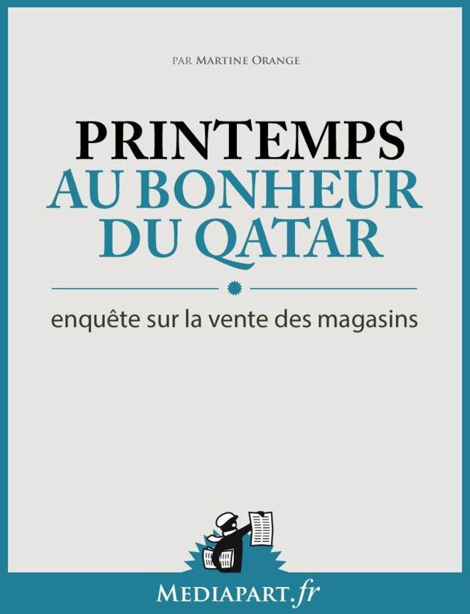Au bonheur du Qatar, enquête sur la vente des magasins Printemps