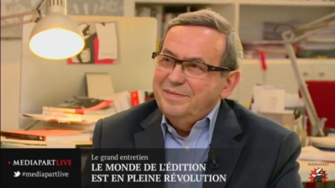Jean-Yves Mollier : un monde de l'édition en pleine révolution