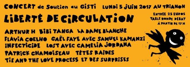Concert « Liberté de circulation ! » lundi 5 juin au Trianon