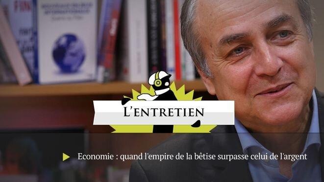 Jacques Généreux: «Halte à la Déconnomie!»