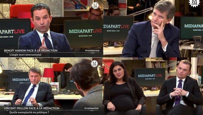 Les candidats socialistes face à Mediapart