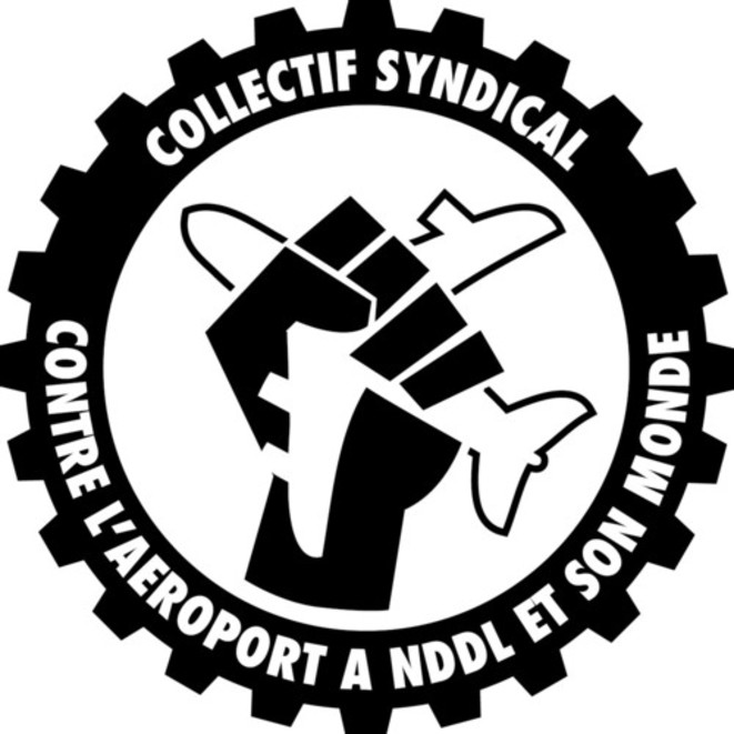 Collectif syndical contre l'aéroport de NDDL