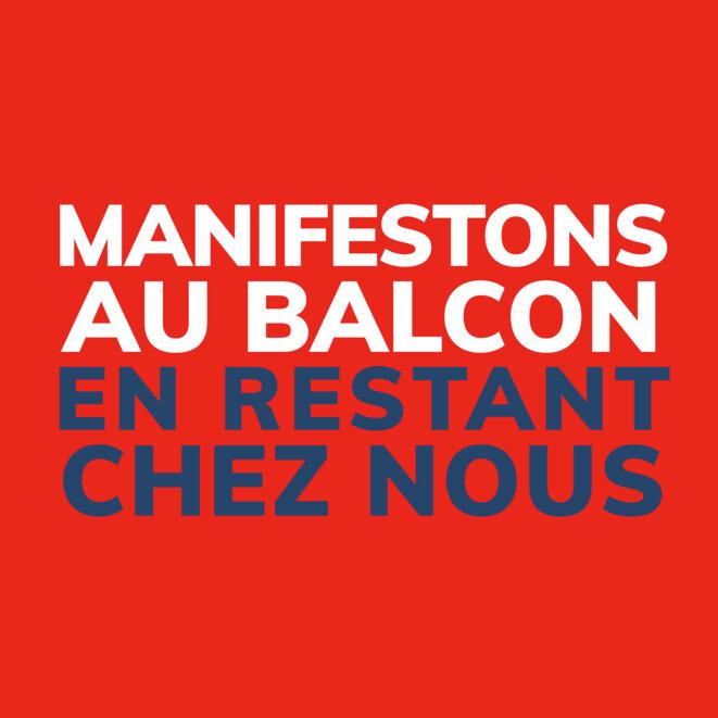 Manifestons au Balcon