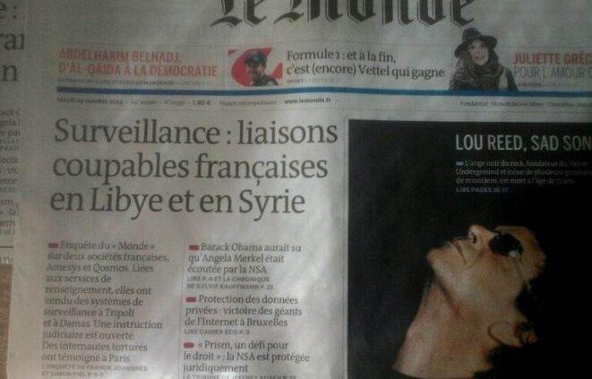 Dossier du Monde du 29.10.2013