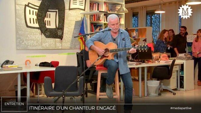 Entretien avec Bernard Lavilliers, «chanteur populaire» et engagé