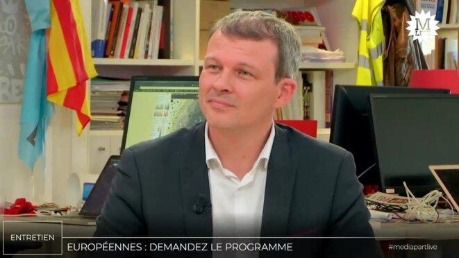 Guillaume Balas: «Macron instrumentalise les élections européennes»
