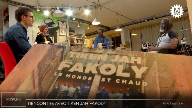 Tiken Jah Fakoly: «Le reggae est la branche musicale de la société civile»