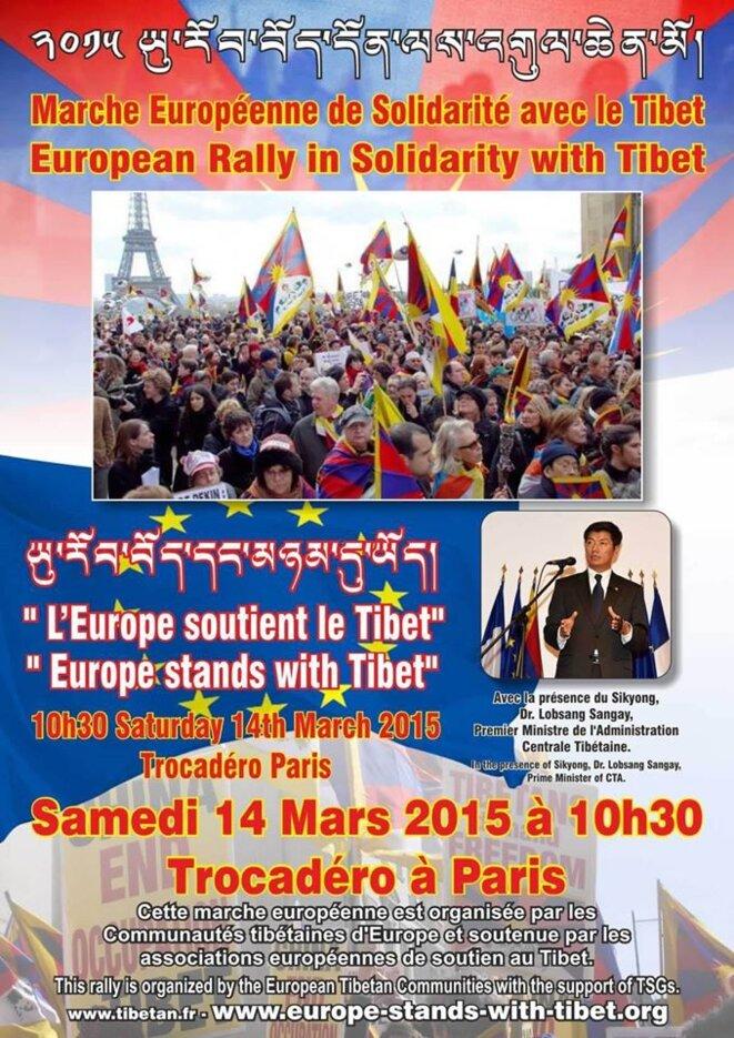 Le 14 Mars, Paris devient la Capitale du Tibet-Libre.     dans France 10680133_10152983483334724_529272615178916265_o