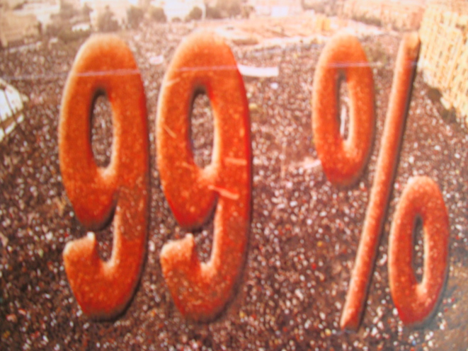 Peuple-classe 99% © CD