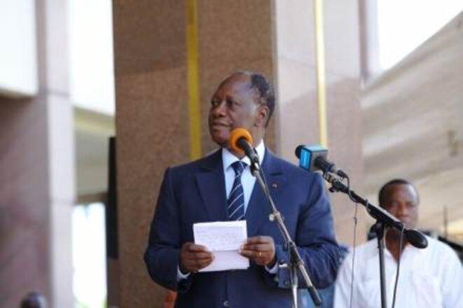 Alassane Ouattara © D.R.