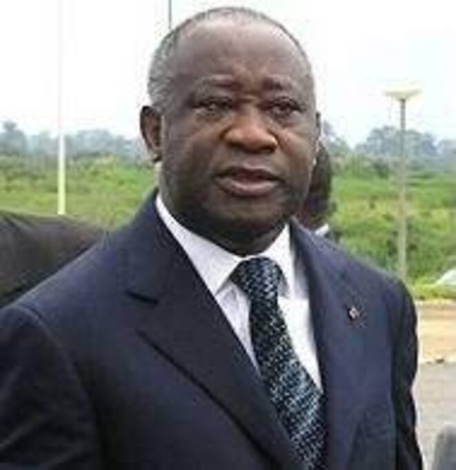 Ready for a fight: Laurent Gbagbo. © DR.