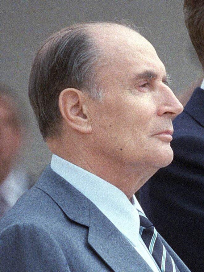 François Mitterrand. © DR