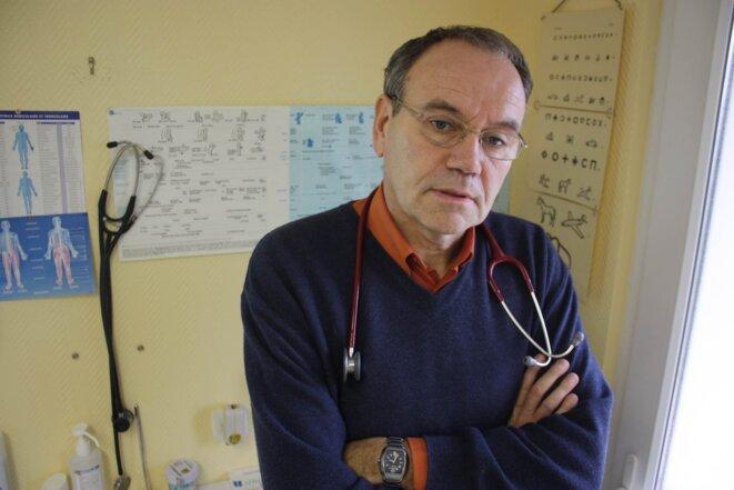Overworked: doctor Jean-Yves Panici. © E.B.