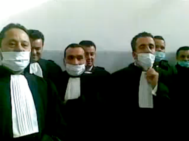 Tunis lawyers © D.R.