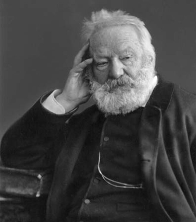 Wise man who made others 'smile': Victor Hugo. © dr