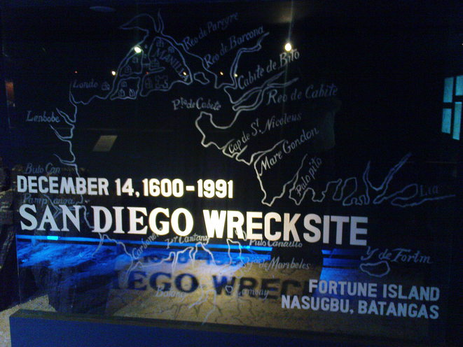 Evocation du San Diego au Musée de Manille ©Polomé