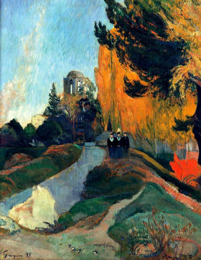 Les Alyscamps de Paul Gauguin