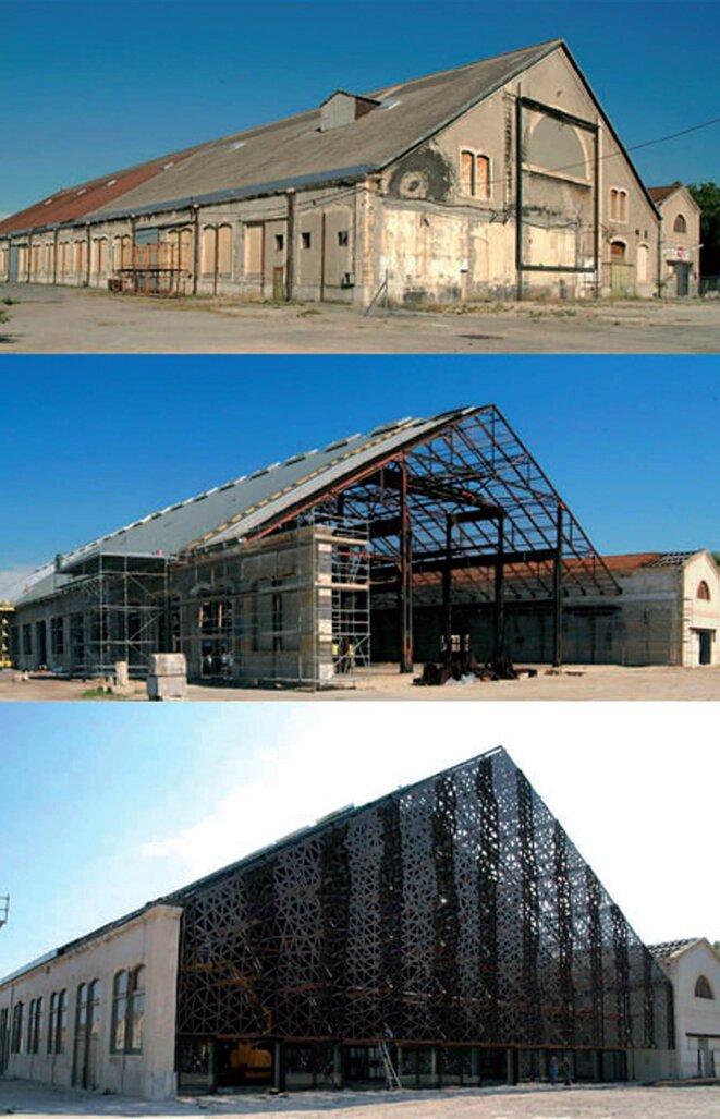 Restauration de la Grande Halle © Ville d'Arles