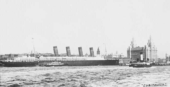 RMS Lusitania © DR