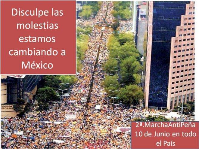"""""""Veuillez nous excuser pour le derrangement, nous sommes en train de changer le Mexique"""""""