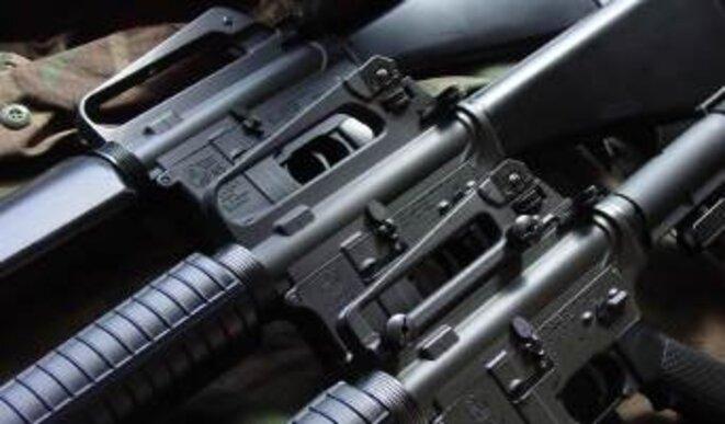 Fusil d'assaut M16®