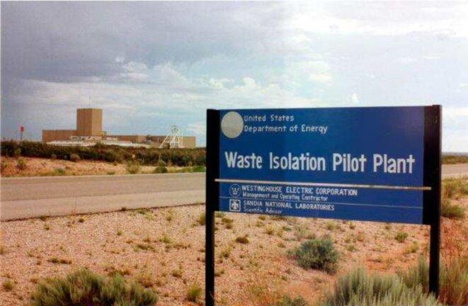 Waste Isolation Pilot Plant - Site Pilote de Confinement des Déchets