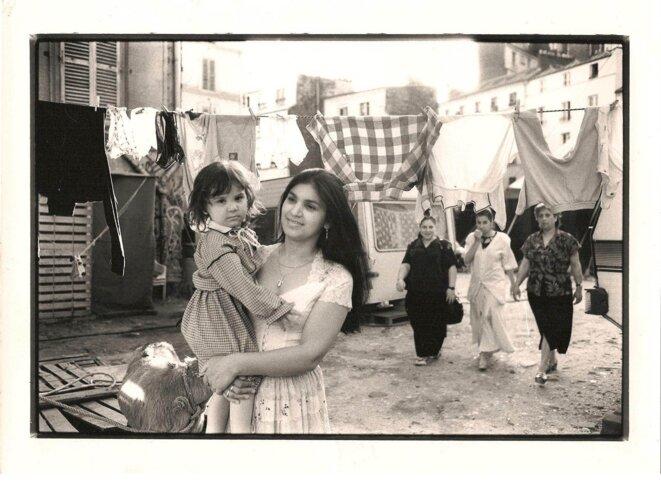 © Delia Romanès avec sa fille Alexandra