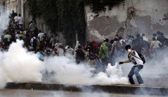 Una de las últimas manifestaciones en Turquía.