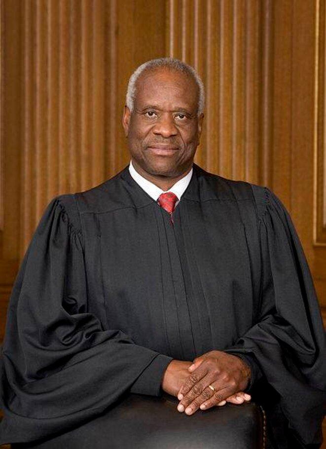 Le juge Clarence Thomas en 2007 © DR