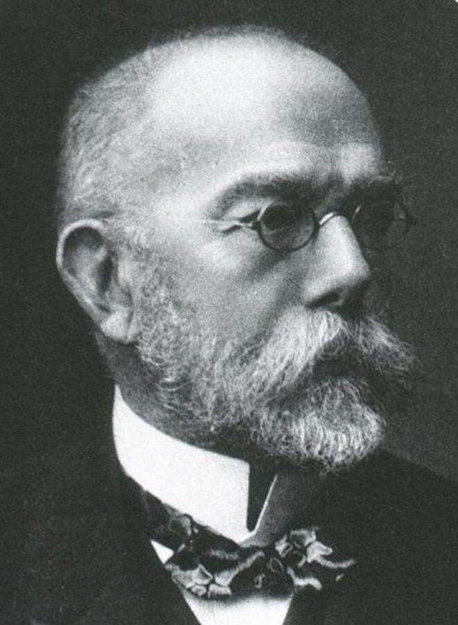 Robert Koch (1843-1910) © DR