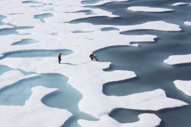 Glace de mer dans l'Arctique canadien