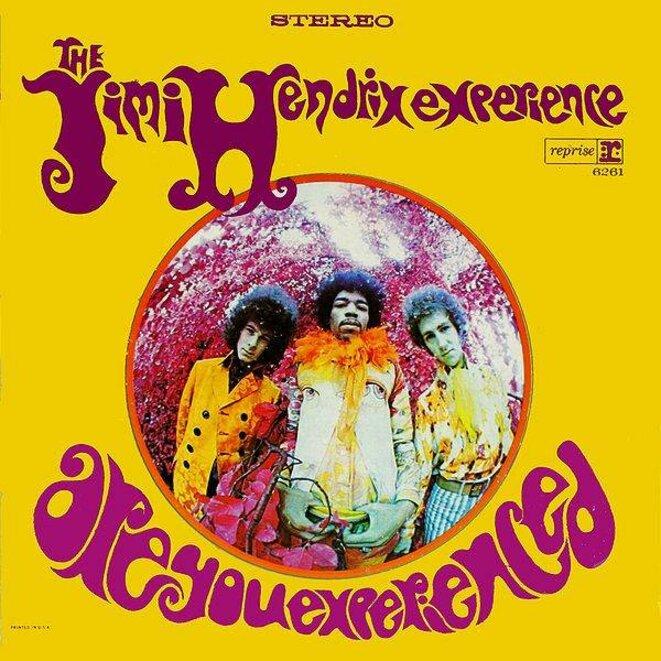 """Pochette de l'album """"Are you Experienced"""" de Jimi Hendrix © Llanv"""