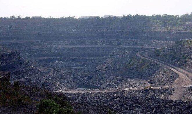 Une mine de charbon en Inde. © Flickr