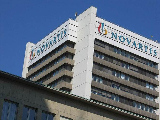 Siège de Novartis, à Bâle