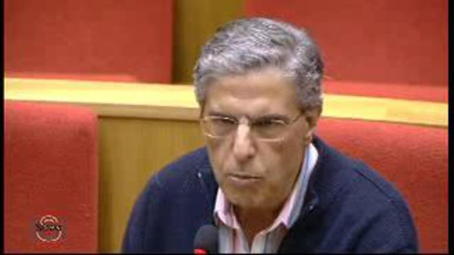 Georges Chiche, auditionné au Sénat en 2011.