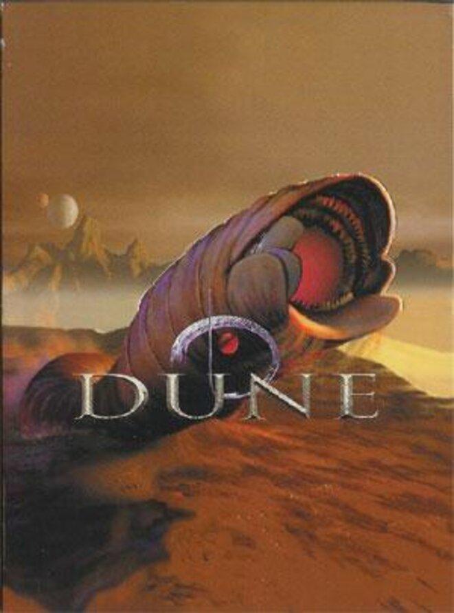Image d'un jeu de carte de collection sur le thème de Dune