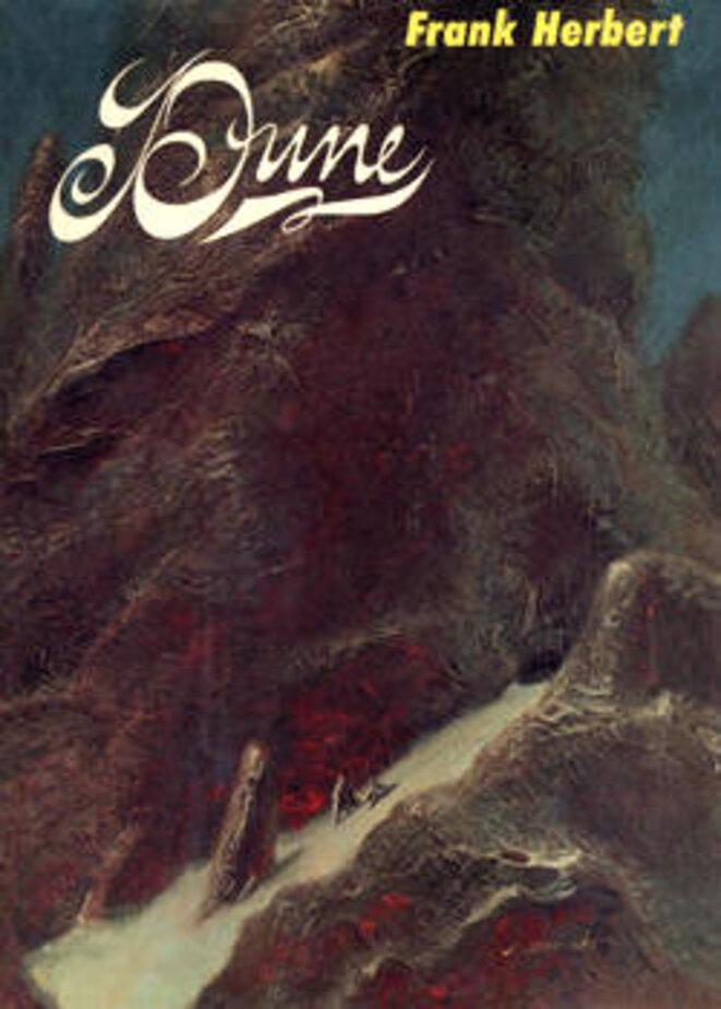 Couverture de la première édition de Dune éditée en 1965 par Chilton Books © John Schoenherr