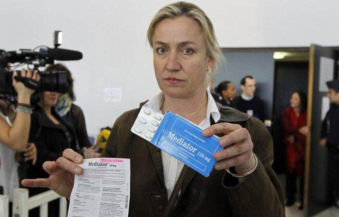 Irène Frachon au tribunal de Nanterre, en mai 2012