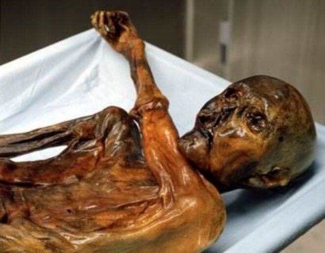Ötzi, l'homme des glaces © South Tyrol Museum of Archaeology