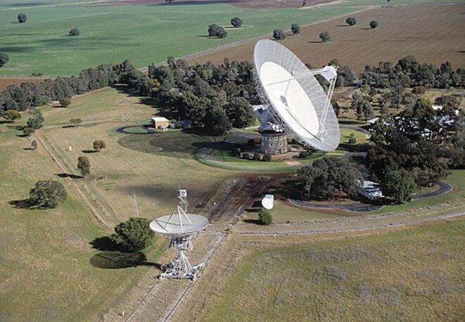Le radiotélescope de Parkes, en Australie
