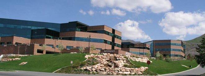 Le siège de Myriad Genetics à Salt Lake City © DR