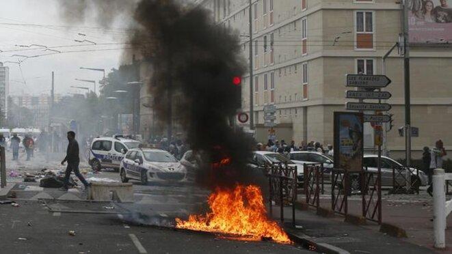 Heurts à Sarcelles le 20 juillet 2014, au cours desquels une synagogue et une épicerie casher ont été attaquées