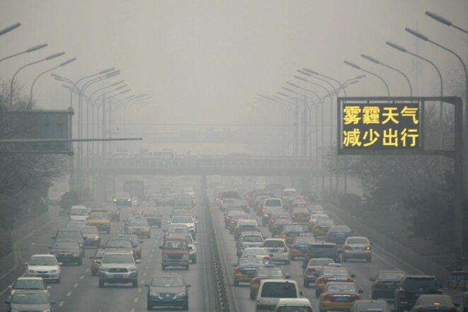 Smog à Beijing © DR