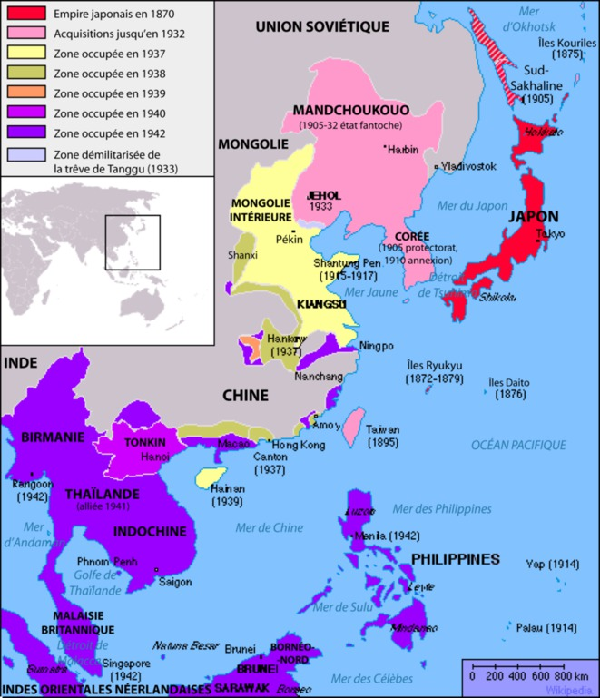 Empire du Japon 1905-1945