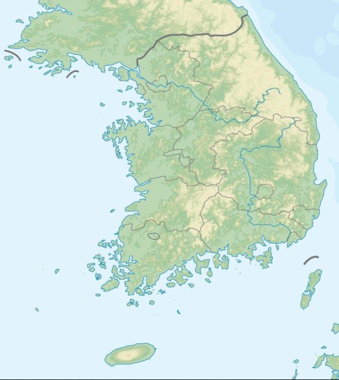 Jeju, île Sud-Ouest Corée