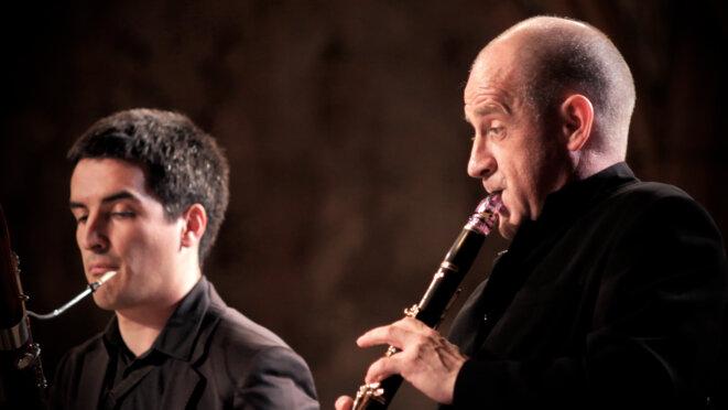 guilhaume Santana (basson) et Ronald van Spaendonck (clarinette) © Jean-Nicolas Schoeser/les musicales